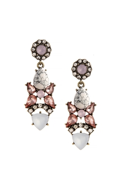 Shoptiques Product: Crystal Drop Earrings