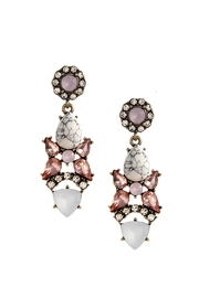 Wild Lilies Jewelry  Crystal Drop Earrings - Front cropped