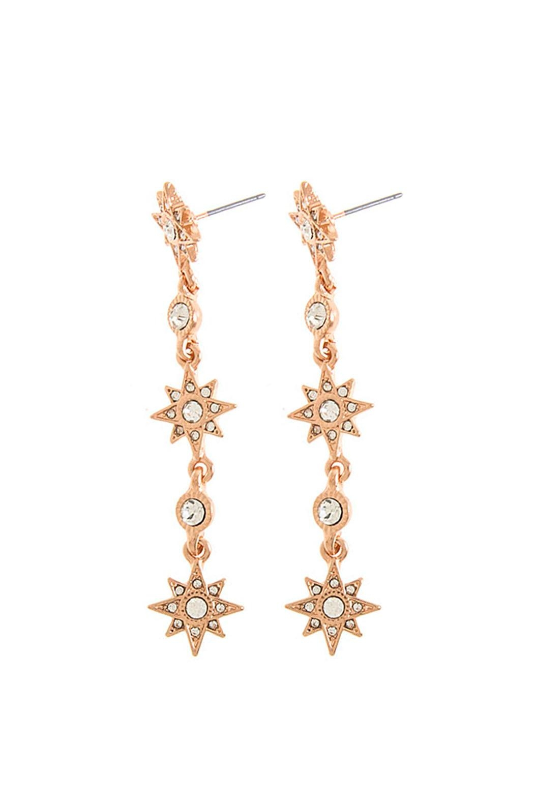 Wild Lilies Jewelry  Crystal Drop Earrings - Front Full Image