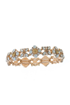 Wild Lilies Jewelry  Crystal Floral Bracelet - Alternate List Image