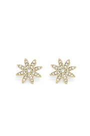 Wild Lilies Jewelry  Crystal Flower Studs - Product Mini Image