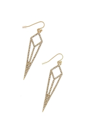Wild Lilies Jewelry  Crystal Geometric Earrings - Product Mini Image