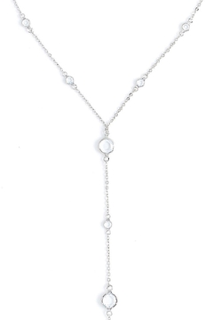 Wild Lilies Jewelry  Crystal Lariat Necklace - Alternate List Image