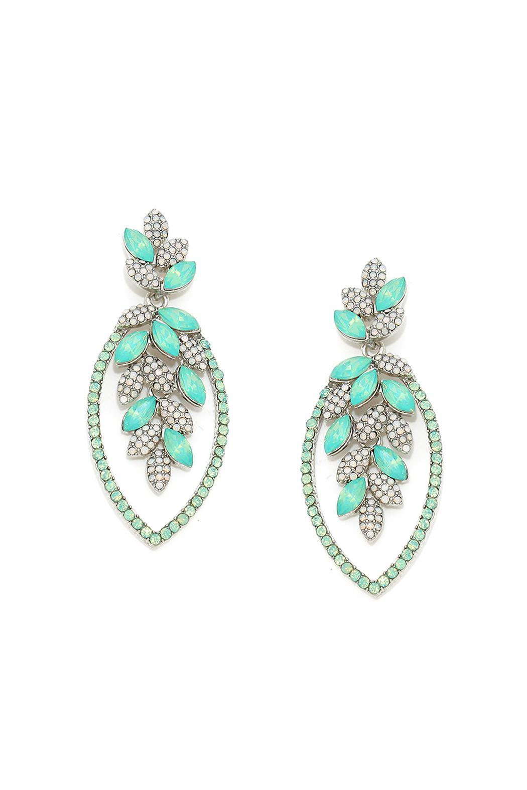 Wild Lilies Jewelry  Crystal Opal Earrings - Main Image