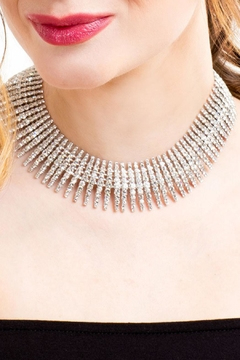 Shoptiques Product: Crystal Statement Necklace
