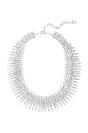 Wild Lilies Jewelry  Crystal Statement Necklace - Front full body