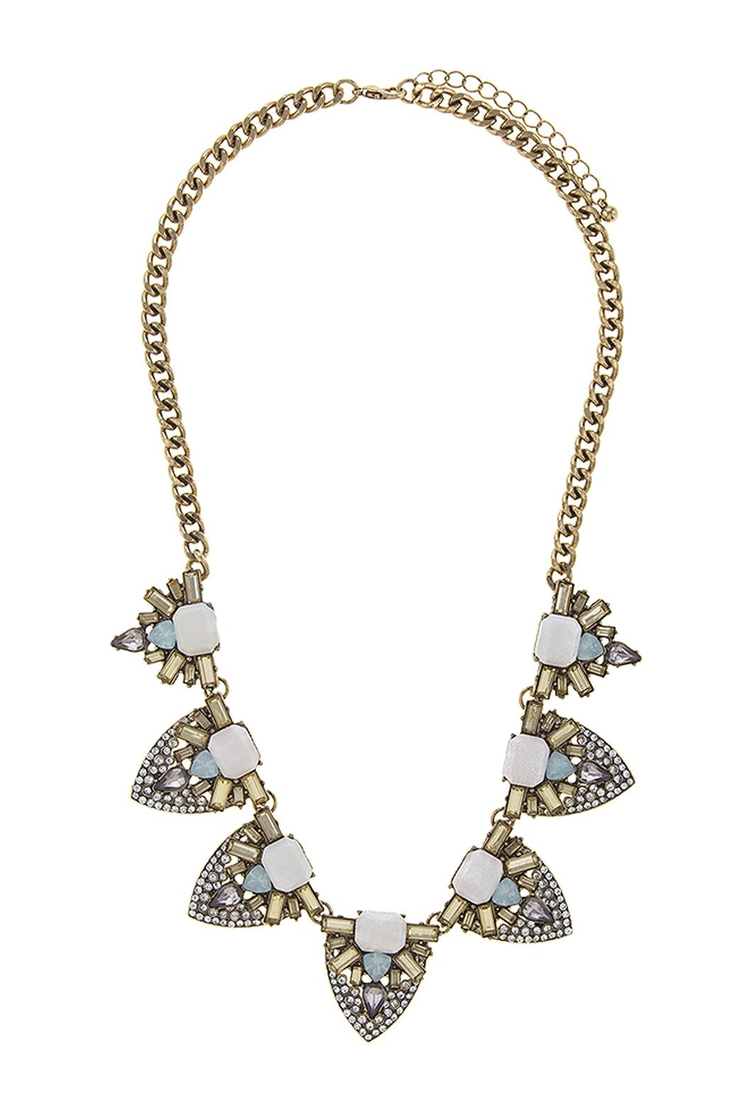 Wild Lilies Jewelry  Crystal Statement Necklace - Main Image