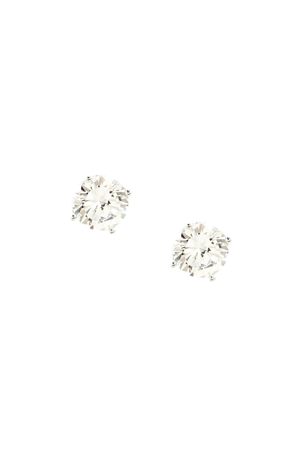 Wild Lilies Jewelry  Crystal Stud Earrings - Front Cropped Image