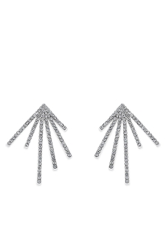 Wild Lilies Jewelry  Crystal Sunburst Earrings - Product List Image