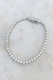 Wild Lilies Jewelry  Crystal Tennis Bracelet - Product Mini Image