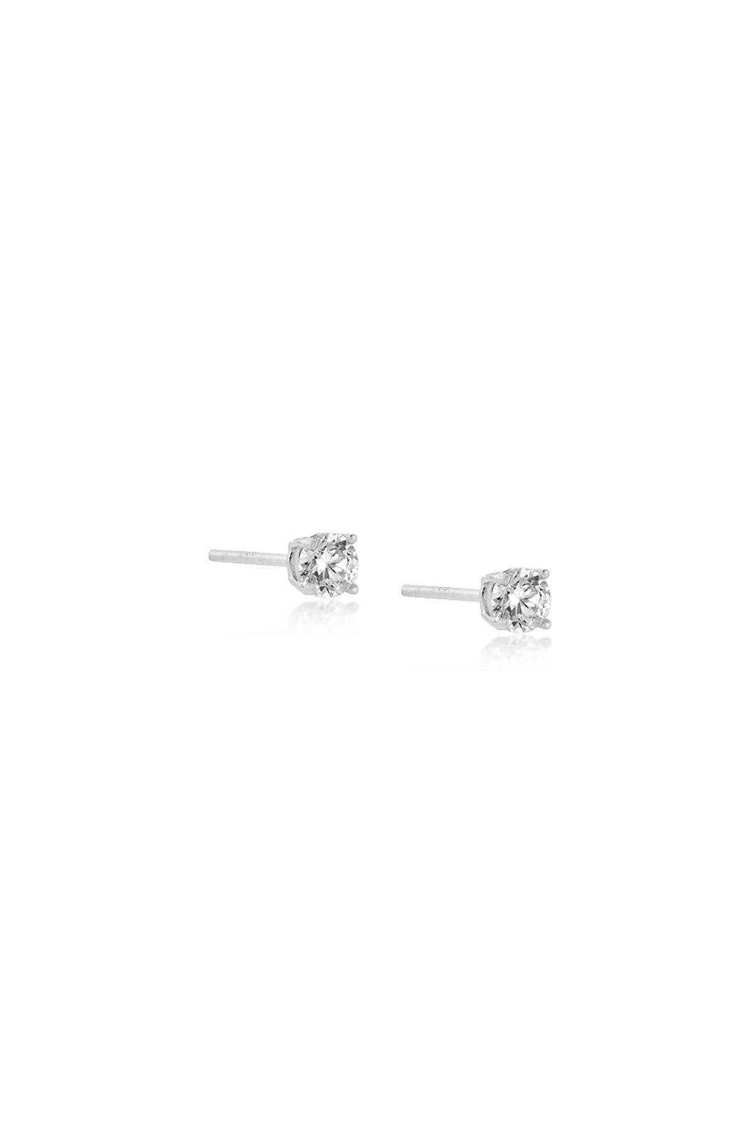 Wild Lilies Jewelry  Cubic Zirconia Studs - Front Full Image