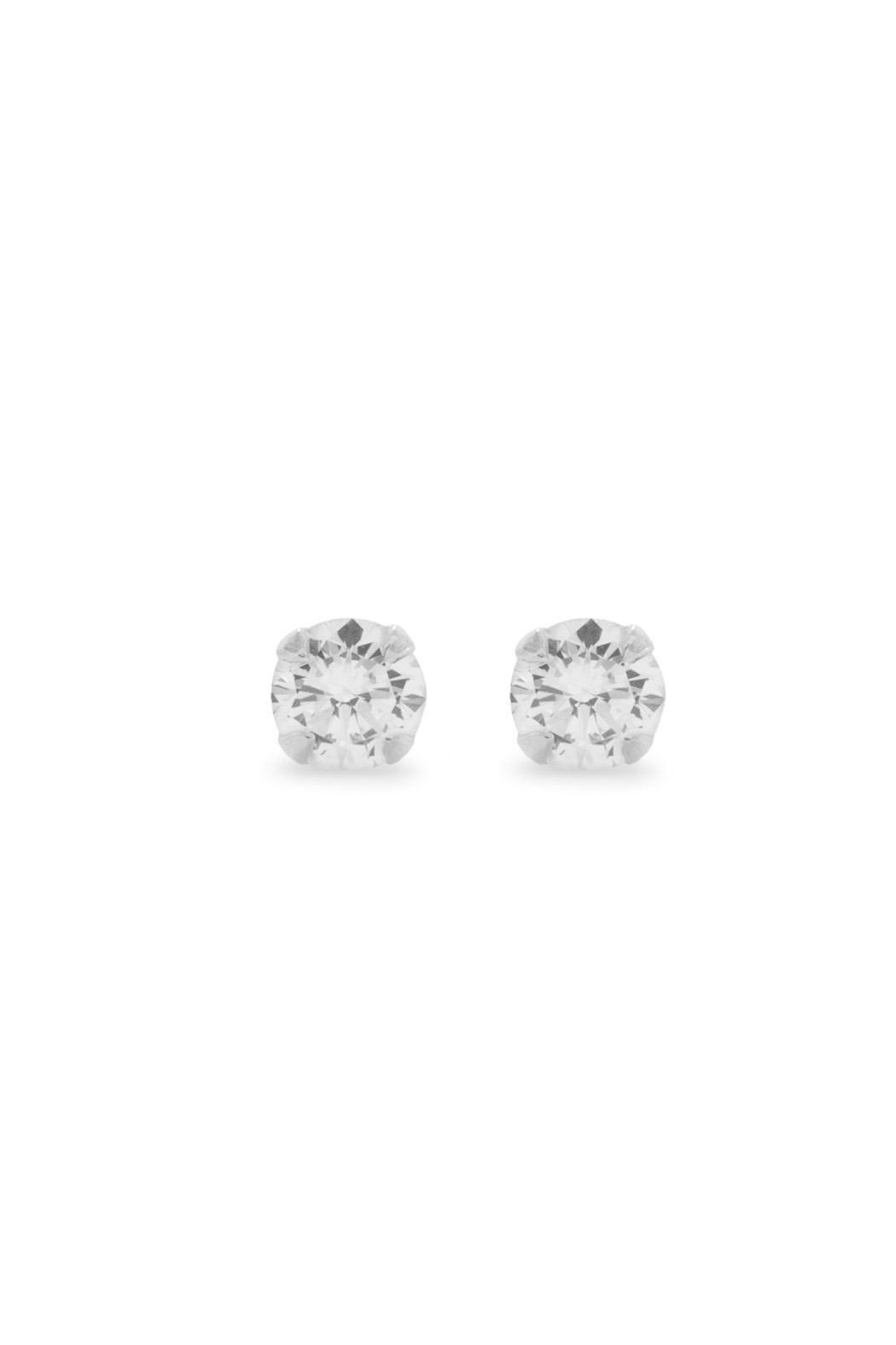 Wild Lilies Jewelry  Cz Stud Earrings - Main Image