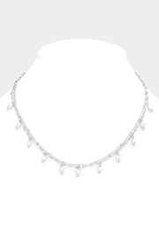 Wild Lilies Jewelry  Dainty Pearl Necklace - Product Mini Image