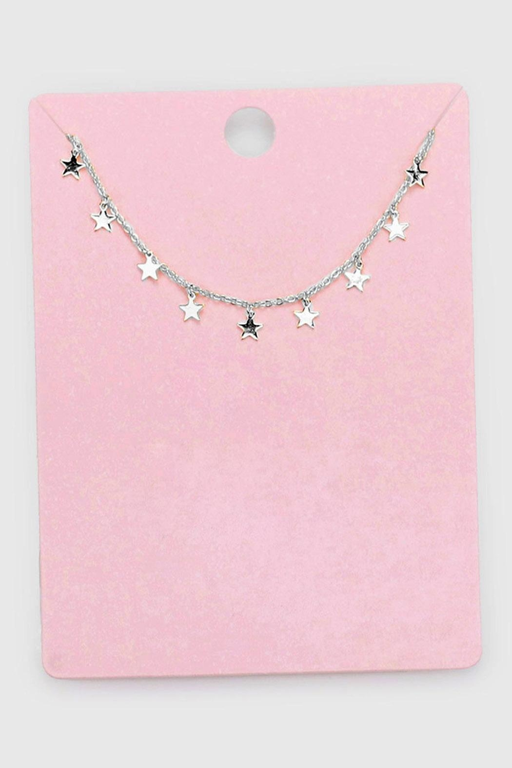 Wild Lilies Jewelry  Dainty Star Necklace - Front Full Image