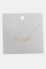 Wild Lilies Jewelry  Dainty Triangle Necklace - Product Mini Image