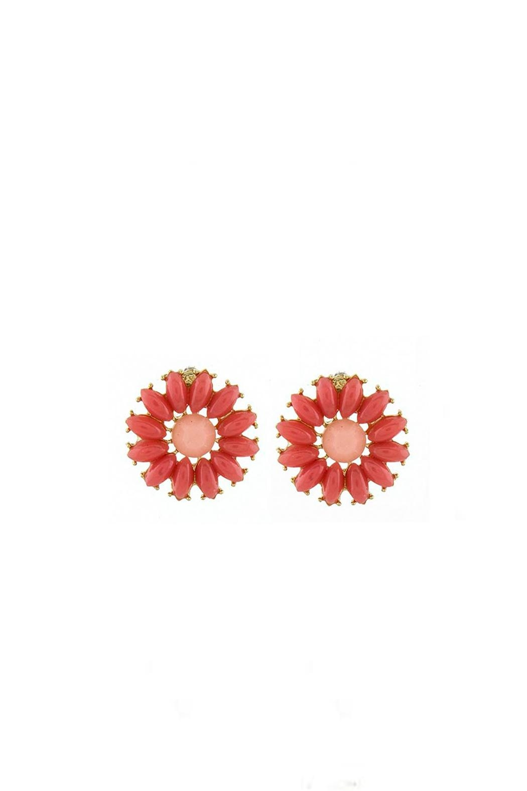 Wild Lilies Jewelry  Daisy Stud Earrings - Front Cropped Image