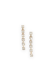 Wild Lilies Jewelry  Delicate Crystal Earrings - Front cropped