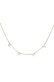 Wild Lilies Jewelry  Delicate Love Necklace - Front cropped