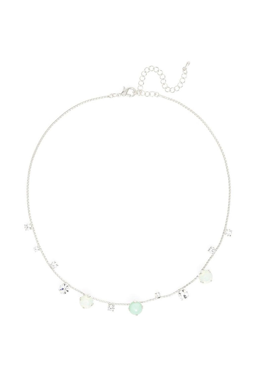 Wild Lilies Jewelry  Delicate Statement Necklace - Main Image