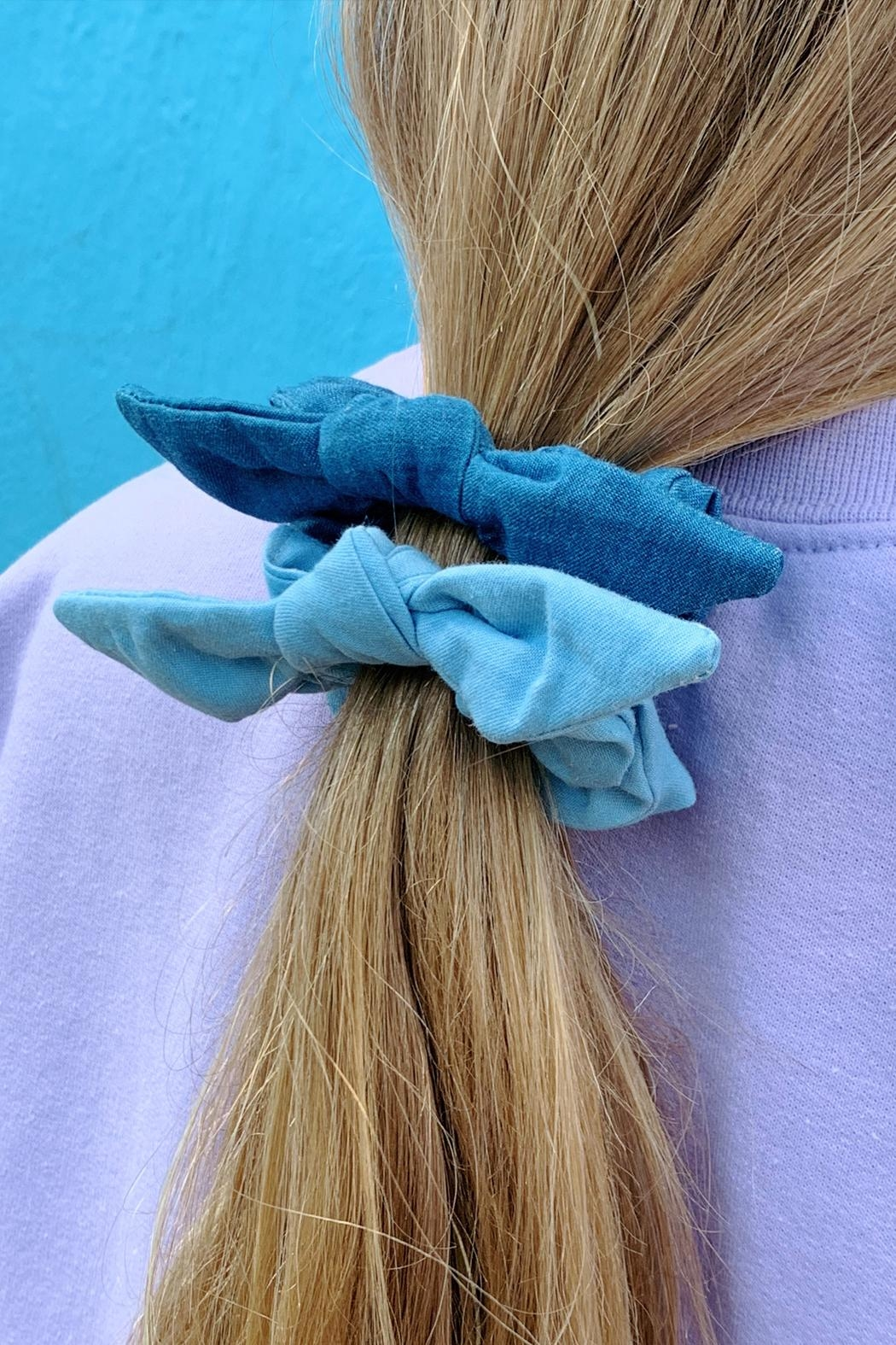 Wild Lilies Jewelry  Denim Scrunchie Set - Main Image