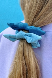 Wild Lilies Jewelry  Denim Scrunchie Set - Product Mini Image