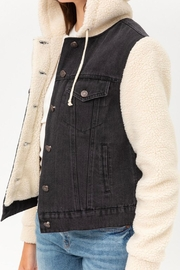 Wild Lilies Jewelry  Denim Sherpa Jacket - Other