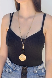 Wild Lilies Jewelry  Disc Pendant Necklace - Product Mini Image