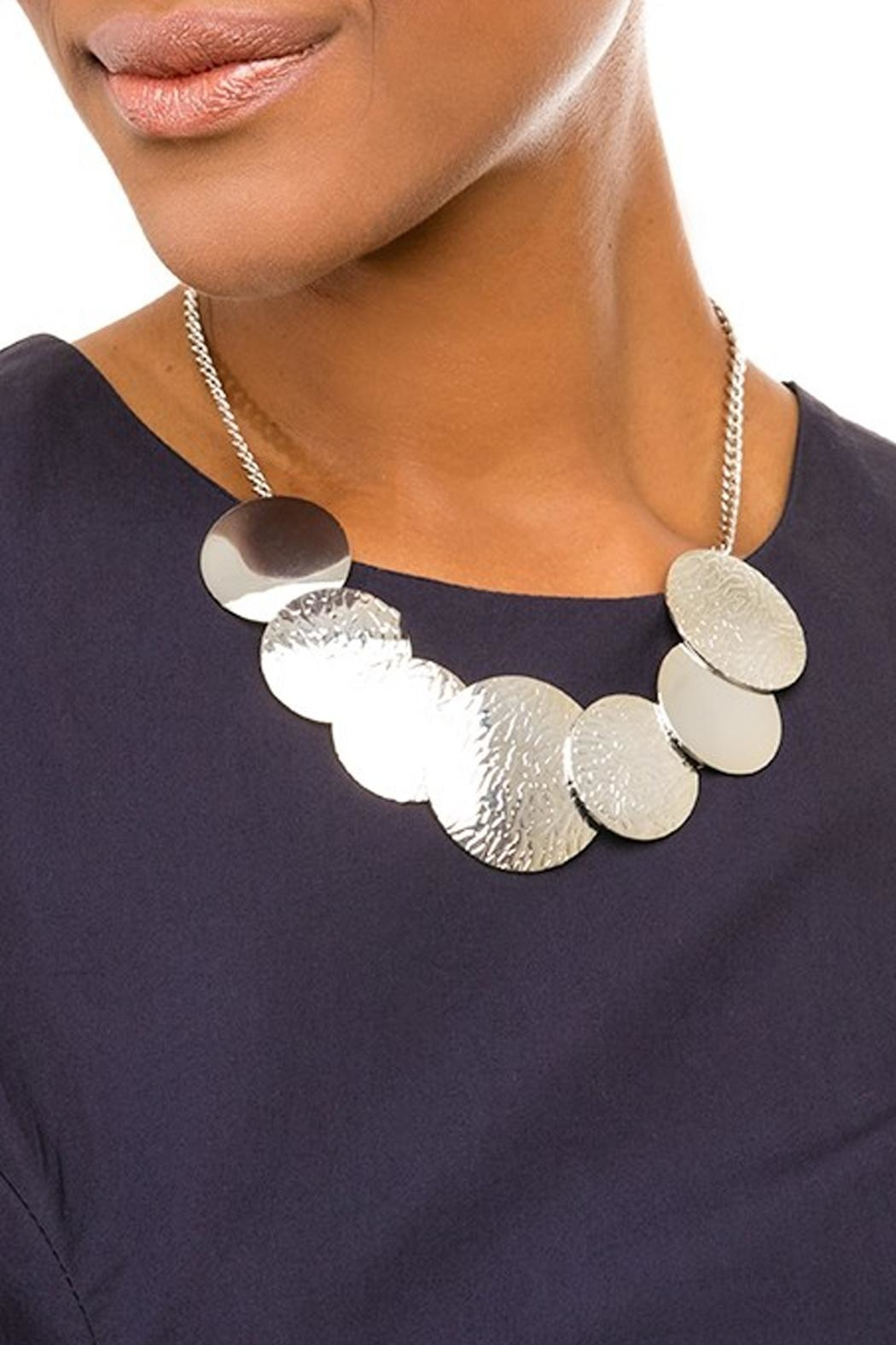 Wild Lilies Jewelry  Disc Statement Necklace - Main Image