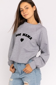 Wild Lilies Jewelry  Dog Mama Sweater - Front full body