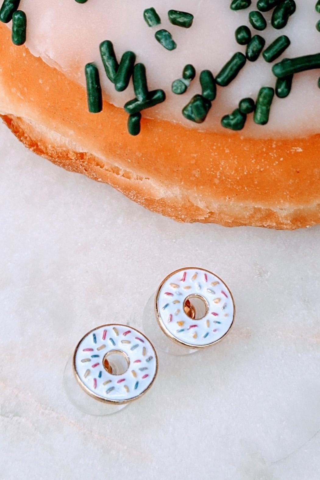 Wild Lilies Jewelry  Donut Stud Earrings - Front Cropped Image