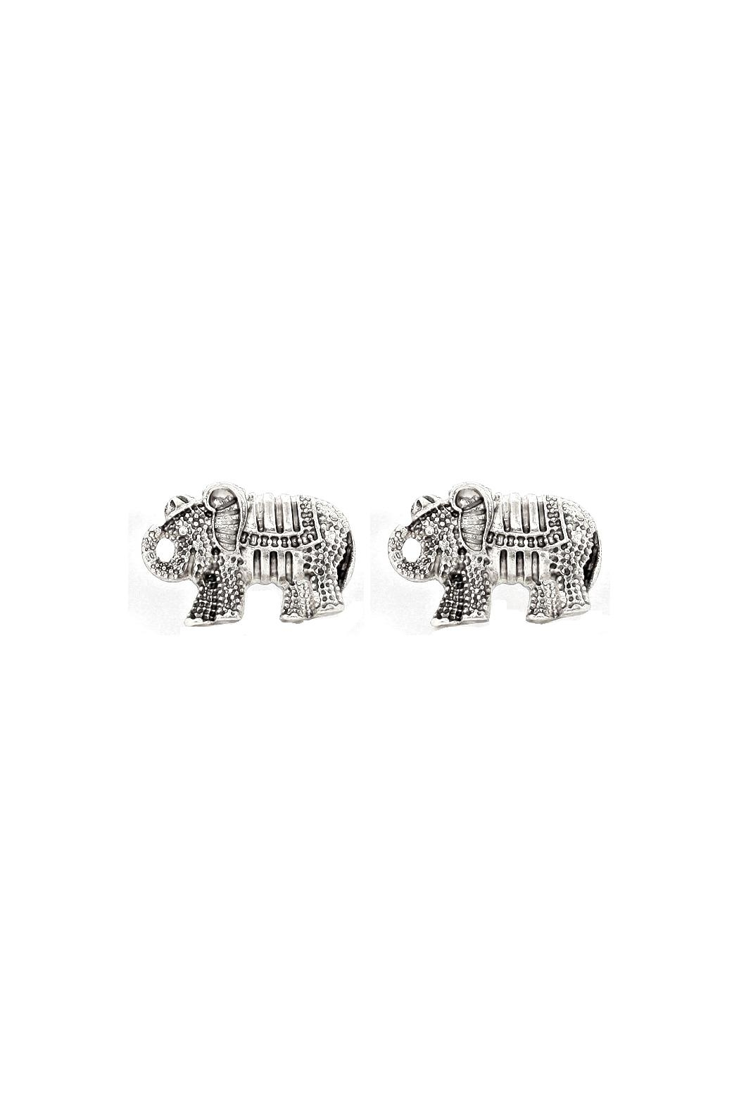 Wild Lilies Jewelry Elephant Stud Earrings Front Cropped Image