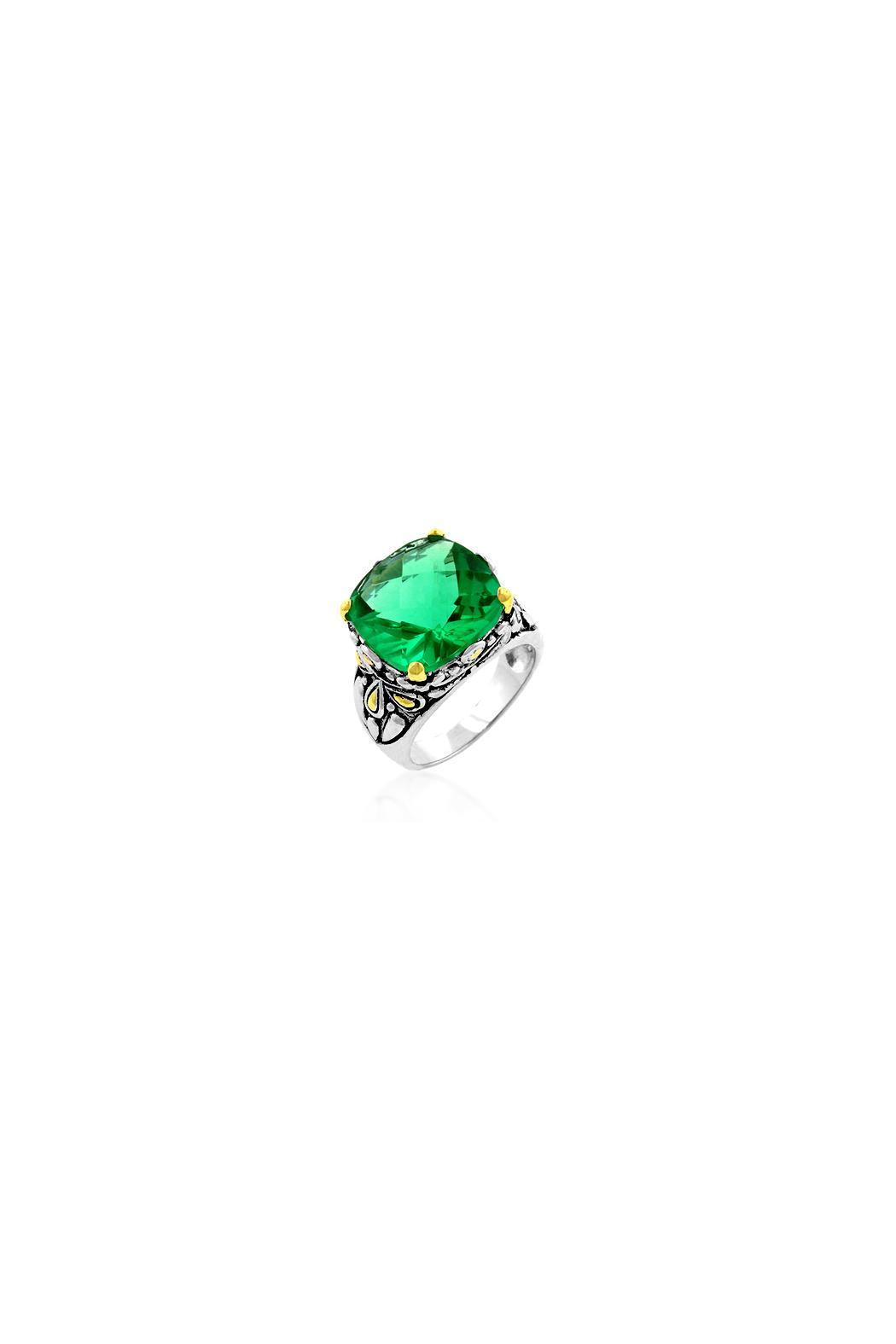 Wild Lilies Jewelry  Emerald Cocktail Ring - Main Image