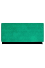 Wild Lilies Jewelry  Emerald Envelope Clutch - Product Mini Image