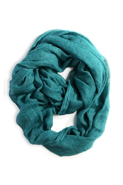 Shoptiques Product: Emerald Infinity Scarf