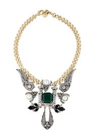Wild Lilies Jewelry  Emerald Statement Necklace - Product Mini Image
