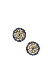 Wild Lilies Jewelry  Evil Eye Stud Earrings - Front cropped