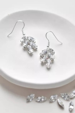Wild Lilies Jewelry  Fleur Crystal Earrings - Product List Image