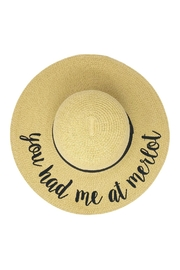 Wild Lilies Jewelry  Floppy Beach Hat - Front cropped
