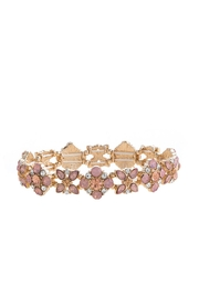 Wild Lilies Jewelry  Floral Crystal Bracelet - Front cropped