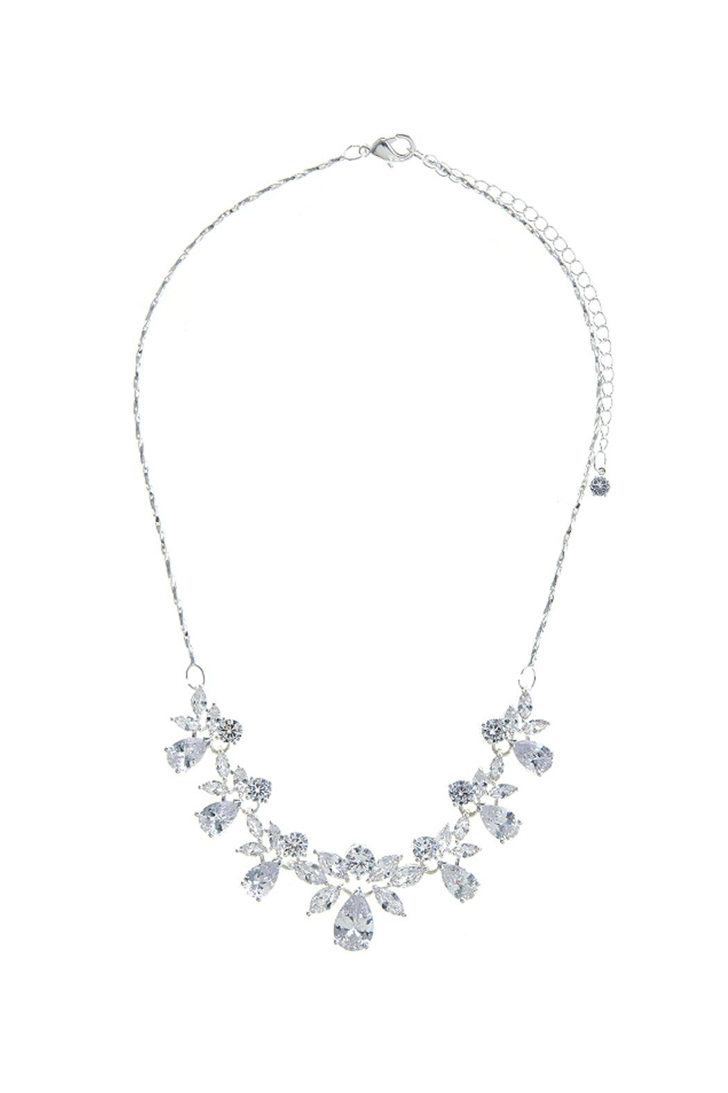 Wild Lilies Jewelry  Floral Crystal Necklace - Main Image
