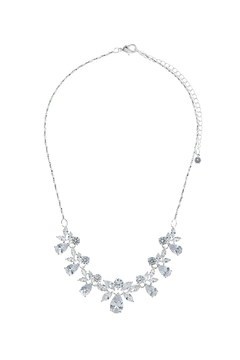 Wild Lilies Jewelry  Floral Crystal Necklace - Alternate List Image