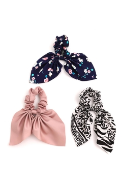 Shoptiques Product: Floral Scrunchie Set