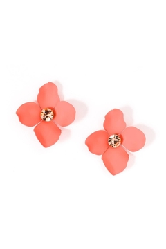 Wild Lilies Jewelry  Floral Statement Earrings - Product List Image