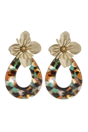 Wild Lilies Jewelry  Flower Statement Earrings - Front cropped