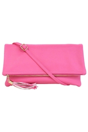 Wild Lilies Jewelry  Fold Over Tassel Clutch - Product Mini Image