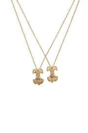 Wild Lilies Jewelry  Friendship Charm Necklace Set - Front full body