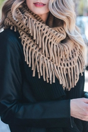 Wild Lilies Jewelry  Fringe Infinity Scarf - Product Mini Image