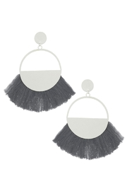 Wild Lilies Jewelry  Fringe Statement Earrings - Product Mini Image