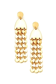 Wild Lilies Jewelry  Fringe Statement Earrings - Front cropped