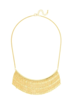 Wild Lilies Jewelry  Fringe Statement Necklace - Product List Image